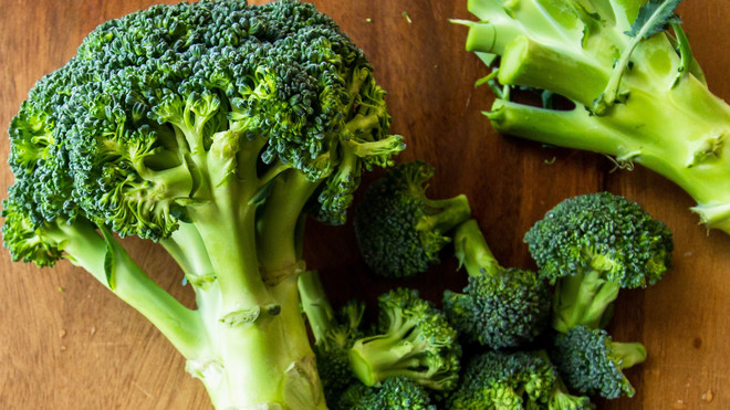Hele gesneden broccoli