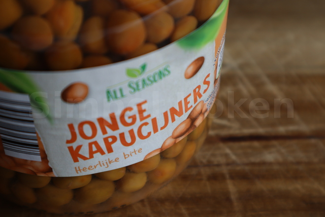 Kapucijners in pot
